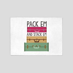 Pack Em 5'x7'Area Rug