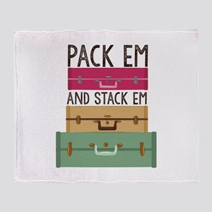 Pack Em Throw Blanket