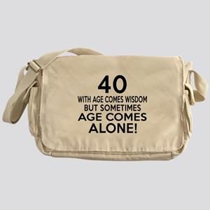40 Awesome Birthday Designs Messenger Bag