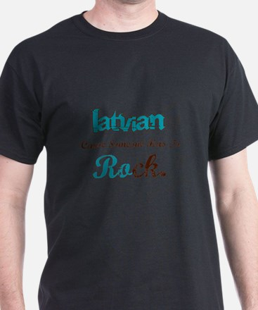 Latvian Rock T-Shirt