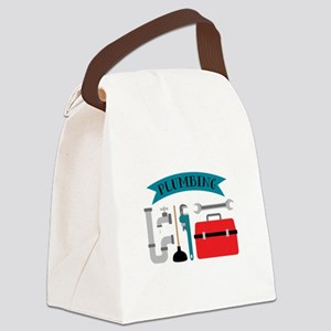 Plumbing Canvas Lunch Bag