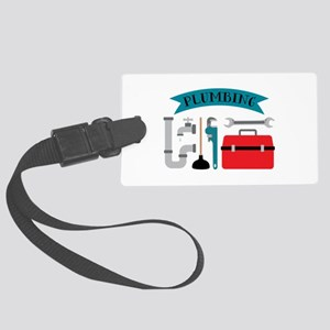 Plumbing Luggage Tag