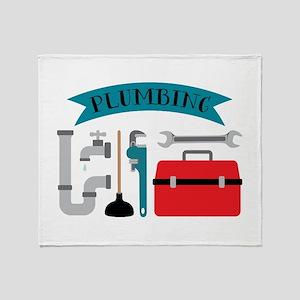 Plumbing Throw Blanket