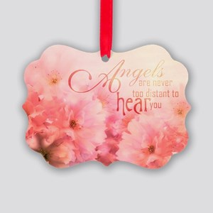 Pink Cherry Blossom for Angels Ornament