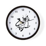 Siamese Cat Royalty Wall Clock