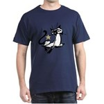 Siamese Cat Royalty Dark T-Shirt