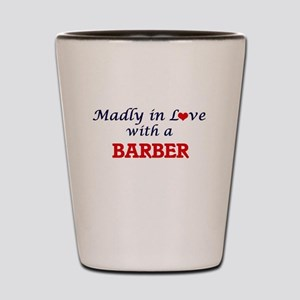 Madly in love with a Barber Shot Glass