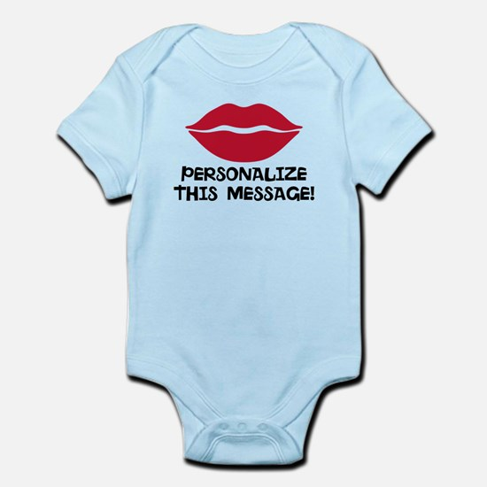 PERSONALIZED Red Lips Body Suit