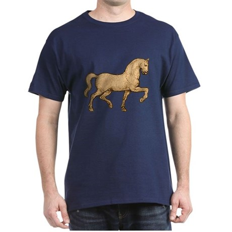 Leonardo Da Vinci Horse Dark T-Shirt