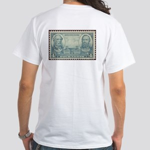 Generals Robert E Lee & Jackson White T-Shirt
