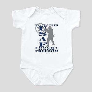 Brother Fought Freedom - USAF Infant Bodysuit