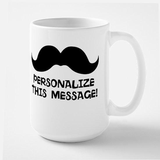 PERSONALIZED Cute Mustache Mugs
