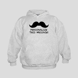 PERSONALIZED Cute Mustache Hoodie
