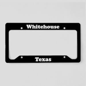 Whitehouse TX - LPF License Plate Holder