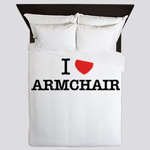 I Love ARMCHAIR Queen Duvet