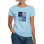 Writing (blue boxes) Women's Light T-Shirt