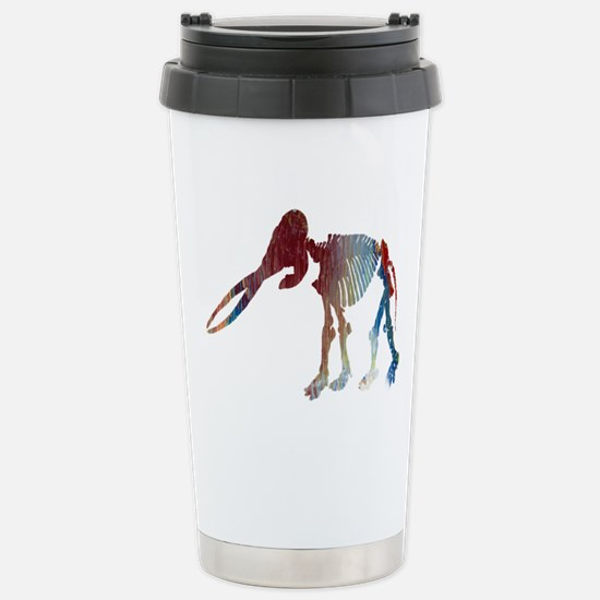 Mastodon Skeleton Stainless Steel Travel Mug