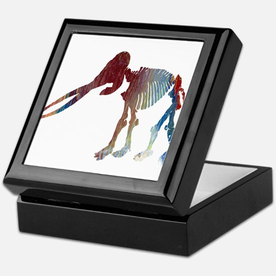 Mastodon Skeleton Keepsake Box