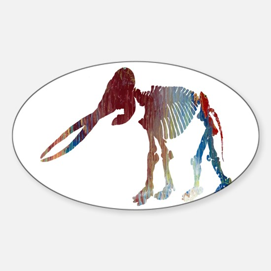 Mastodon Skeleton Decal