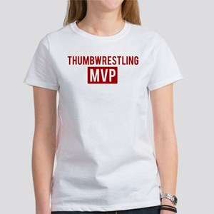 Thumbwrestling MVP Women's T-Shirt