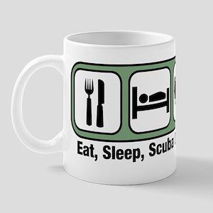 Eat, Sleep, Scuba Diving Mug