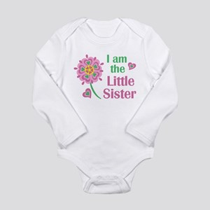 I Love My Little Sister Baby Clothes Accessories Cafepress
