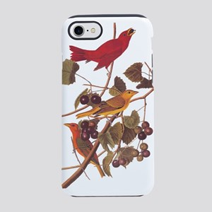 Summer Red Bird Vintage Audubon iPhone 8/7 Tough C