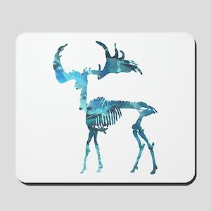Deer Skeleton Mousepad