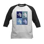 Violin (blue boxes) Kids Baseball Jersey