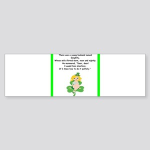 limerick Bumper Sticker