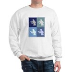 Violin (blue boxes) Sweatshirt