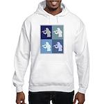 Violin (blue boxes) Hooded Sweatshirt