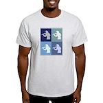 Violin (blue boxes) Light T-Shirt