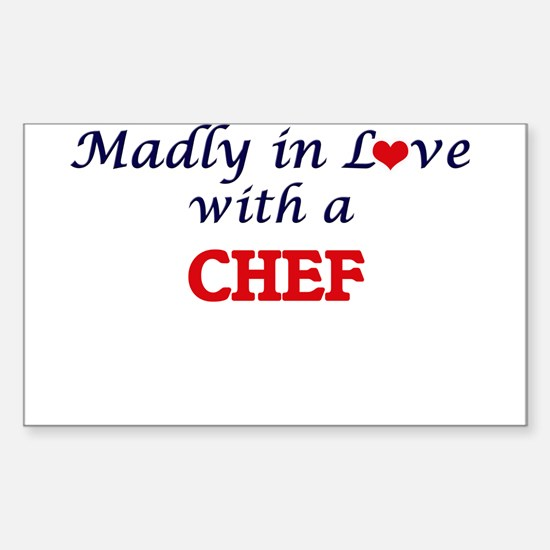Madly in love with a Chef Decal