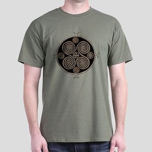 Brown Martebo Dark T-Shirt