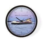 Adam E. Cornelius Wall Clock