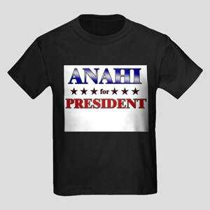 ANAHI for president Kids Dark T-Shirt