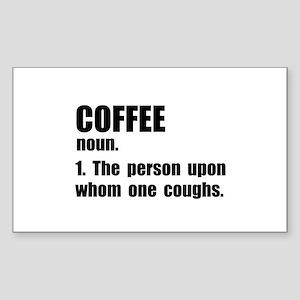 Coffee Definition Sticker