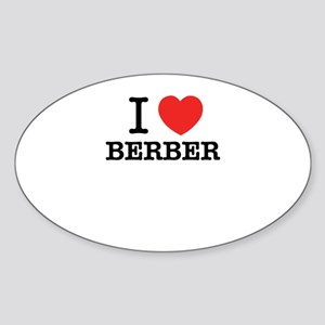 I Love BERBER Sticker