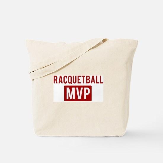 Racquetball MVP Tote Bag