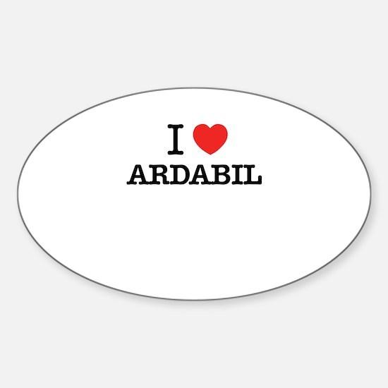I Love ARDABIL Decal