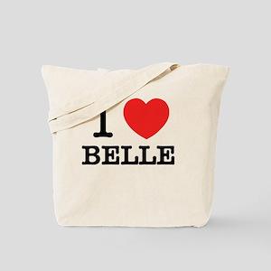 I Love BELLE Tote Bag