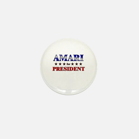 AMARI for president Mini Button