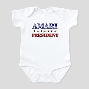 AMARI for president Infant Bodysuit