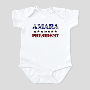 AMARA for president Infant Bodysuit