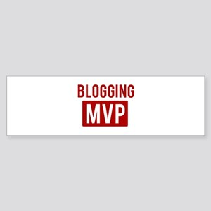 Blogging MVP Bumper Sticker