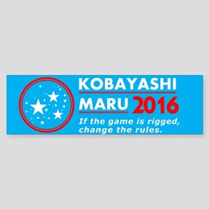 KM16 Bumper Sticker Bumper Sticker