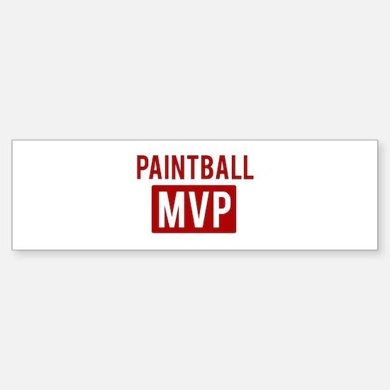Paintball MVP Bumper Bumper Bumper Sticker