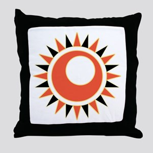 Hollow star Throw Pillow