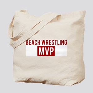 Beach  Wrestling MVP Tote Bag